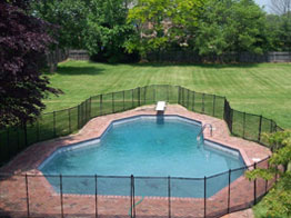 Visi Guard Pool Fence